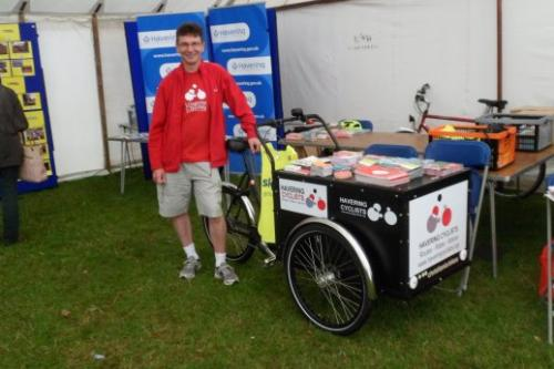 Terry at Town Show