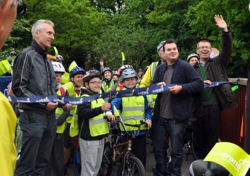 Opening of Ingrebourne bridge