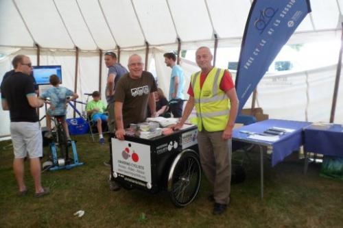 Dave and Jeff at Town Show 2016